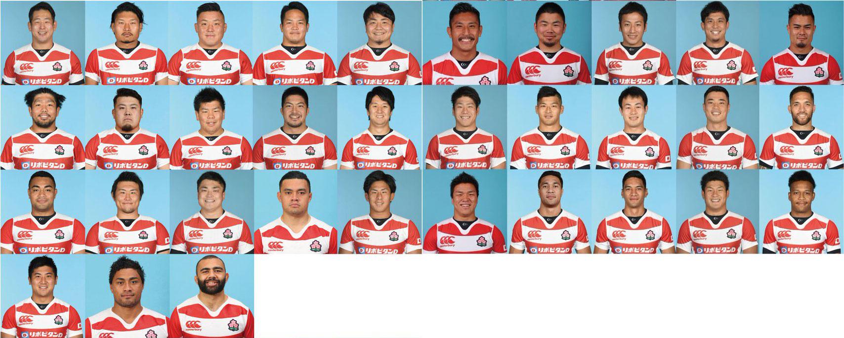 日本代表メンバー33名、発表! \u2013 リポビタンDチャレンジカップ2017